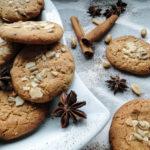 Ciasteczka owsiane z masłem orzechowym i czekoladą (video)