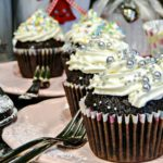 Muffinki czekoladowe z kremem mascarpone