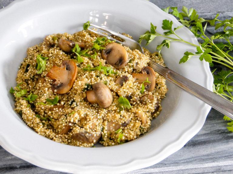 Quinotto czyli risotto z komosy ryżowej