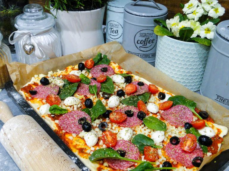 Domowa pizza – przepis na ciasto