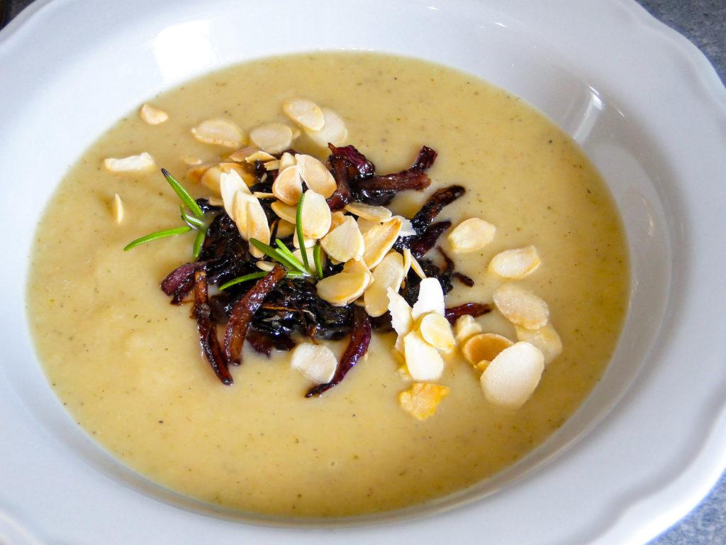 Zupa krem z pieczonego selera