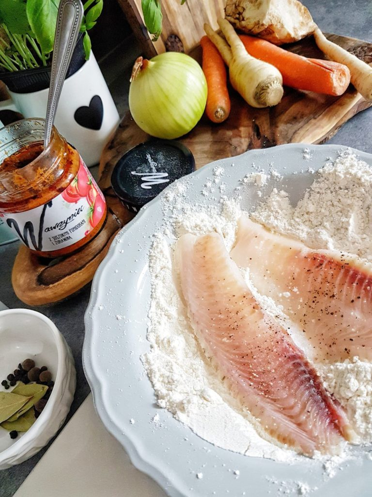 filet z bialej ryby